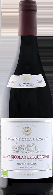 Saint Nicolas de Bourgueil, Terroir de Sable (Domaine de la Closerie) Loire Vins