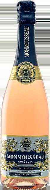 Touraine rosé demi-sec, Cuvée JM (Monmousseau) Loire Vins