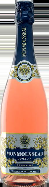 Touraine rosé brut, Cuvée JM (Monmousseau) Loire Vins