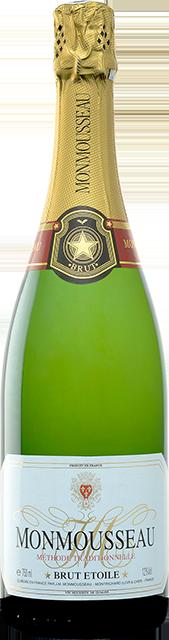 Méthode tradionnelle blanc brut, Cuvée Brut Etoile Loire Vins