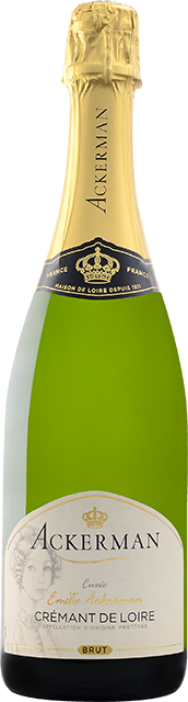 bouteille 1 Crémant de Loire blanc brut, Emilie Ackerman Loire Vins