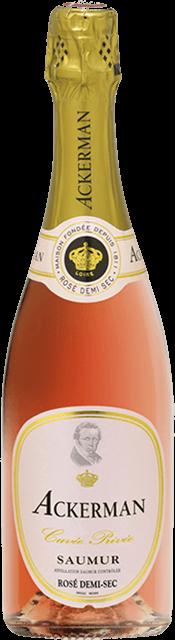 Saumur rosé demi-sec, Cuvée Privée (Ackerman) Loire Vins
