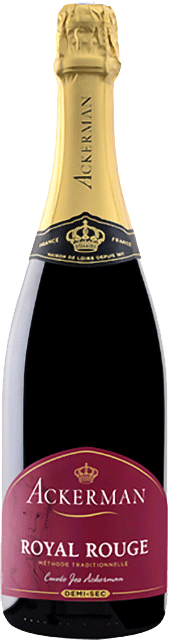 bouteille 1 Cuvée Jos Ackerman rouge demi-sec Loire Vins