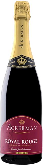 Méthode tradionnelle rouge demi-sec, Cuvée Jos Ackerman (Ackerman) Loire Vins
