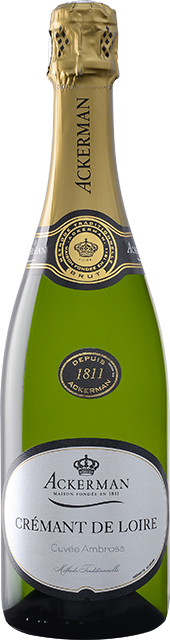 bouteille 1 Crémant de Loire blanc brut, Ambrosa Loire Vins