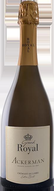 Crémant de Loire blanc extra brut, Grand Royal Loire Vins