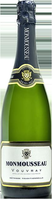 Vouvray blanc demi-sec (Monmousseau) Loire Vins