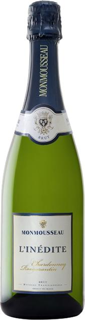 Méthode tradionnelle blanc brut, L'Inédite (Monmousseau) Loire Vins