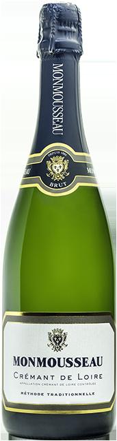 Crémant de Loire blanc brut (Monmousseau) Loire Vins