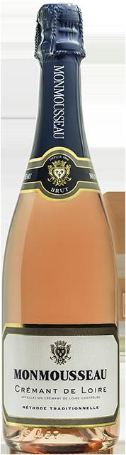 Crémant de Loire rosé brut Loire Vins