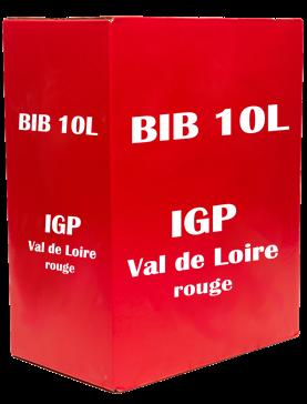 BIB 10L - IGP Val de Loire rouge Loire Vins