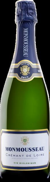 Crémant de Loire blanc brut, bio Loire Vins